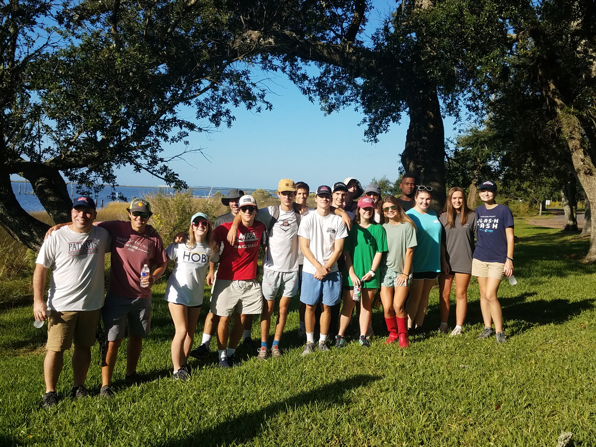 Marine and Aquatics Class Fieldwork Trip