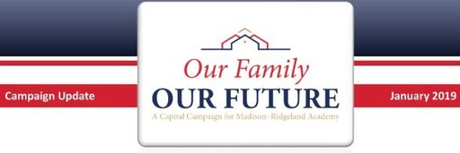 Thank You To Our Capital Campaign Donors!!
