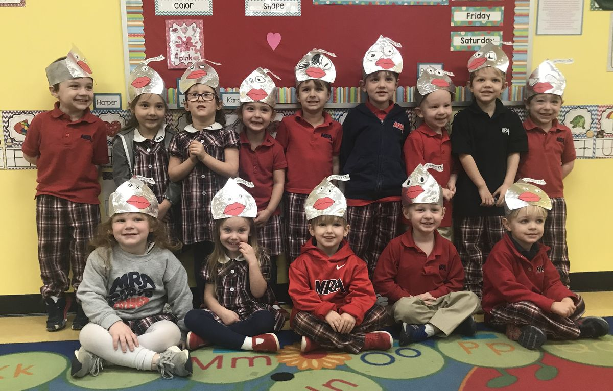 Valentine's Day at the Kindergarten!