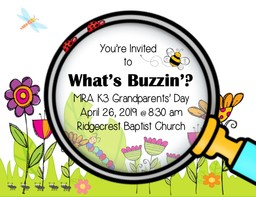 K3 Play and Grandparents' Day!