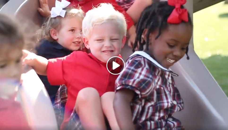 Check Out This Video! : New & Improved Kindergarten Playground
