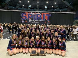 State Champions!! Congratulations Patriot Pride Varsity Dance Team!!
