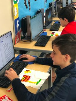 Using Candy to Sort Data