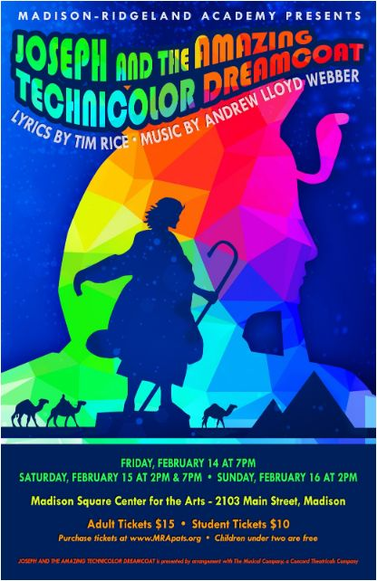 OPENS TONIGHT! Joseph and the Amazing Technicolor Dreamcoat