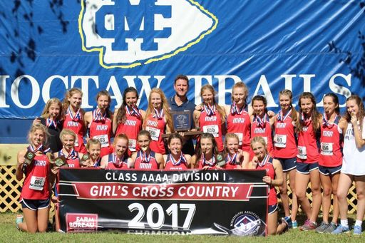 Lady Pats race to 1st XC title