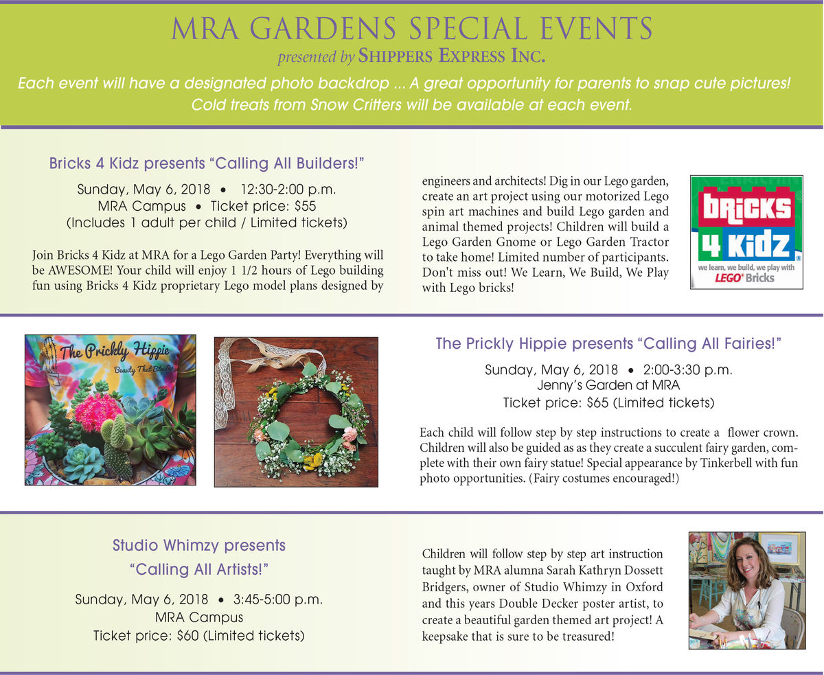 Don't Miss Your Chance - Gardens Special Events Tickets!
